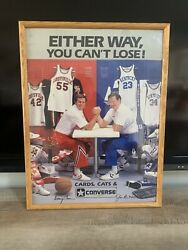 Extremely Rare University Of Louisville Kentucky Wildcats Converse Ncaa Poster🔥