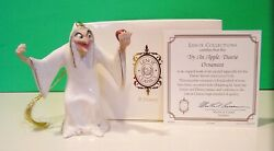 Lenox Try An Apple Dearie Snow White Witch Ornament New In Box With Coa