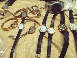11timex Signed Vintage Watch Lot