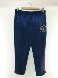 Secondhand Ny Yankees Patch Lounge Pants/yankees/track Pants/48/polyester