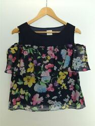 Secondhand Chesty Short Sleeve Cut And Sewn Polyester Nvy Floral 11s621