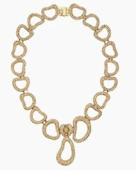 Tigris Necklace Gold-toned Gold-toned Plated 5513784 Nib
