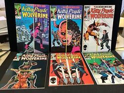 Kitty Pryde And Wolverine 1-6 Complete High Grade Lot