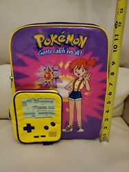 Pokemon Backpack Gotta Catch#x27;em All Nintendo New with Tag $19.95