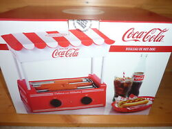 Coca Cola Hot Dog Roller And Bun Warner Nostalgia Products Hdr565coke New In Box