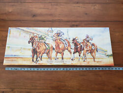 Woodford Reserve Kentucky Derby Limited 2020 Picture Print Canvas Wrong Date