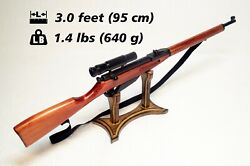 Wooden Toy Sniper Mosin Nagant Rifle Replica Weapon Toy Rifle Gift