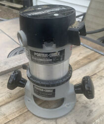 Porter Cable Model 6902 Router Motor W/ Model 1001 Base Made In Usa