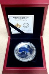 Canada - 50 Fifty Dollars - Moonlit Tranquility - 5oz Silver Colored Proof Ogp