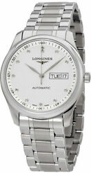 New Longines Master Collection Automatic Silver Dial Menand039s Watch L27554776