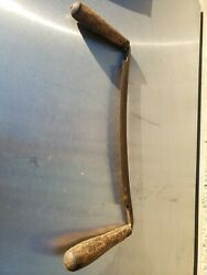 Great Antique Drawknife, Part Of Collection, Ca. Late 19th C.