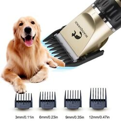 Pet Grooming Hair Clipper Kit Professional Dogs Hairdresser Rechargeable Animal