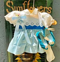 Beautiful Stunning Vintage Part Dress For Chatty Cathy Doll- Original Outfit