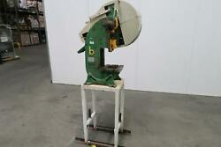 Bench Master 182a-2 Punch Press T127519