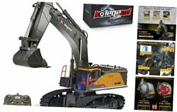 Remote Control Excavator Toy 1/14 Scale Rc Excavator 22 Channel Upgrade Full