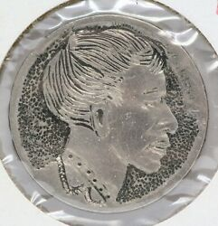 Hobo Nickel African Man Comb Over Suit Mustache Buffalo Hand Engraved Coin LF717 $100.00