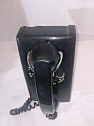 Vintage 1964 Black Northern Electric Rotary Dial Wall 593 Phone G3 Rare Find.