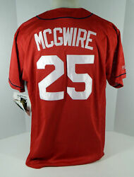 St. Louis Cardinals Mark Mcgwire 25 Authentic Red Jersey Majestic Nwt Xl 270