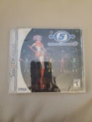 Space Channel 5 Sega Dreamcast 2000 Brand New Factory Sealed