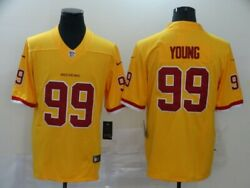 Chase Young 99 Washington Redskins Football Team Vapor Limited Jersey Stitched