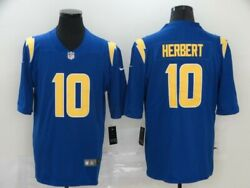 Los Angeles Chargers Football 10 Justin Herbert Men's Stitched Jersey 2021