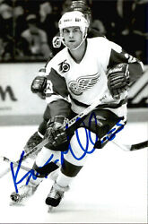 Kevin Miller Signed Autographed 4x6 Photo Detroit Red Wings 2