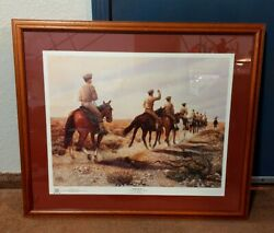 Going Homewayne A. Whiting Cpt, Nmmi Named By Cadet Wattsvintage Framed Print