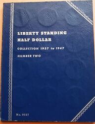 1937 - 1947 Liberty Standing Half Dollar Collection Book 30 Coins - Full Set