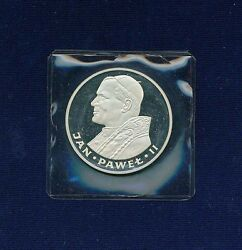 Poland 1982 Chi 100 Zlotych pope John Paul Ii gem Cameo Proof Silver Coin