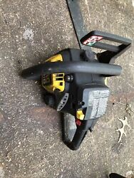 Mac 3516 Mcculloch Chainsaw For Parts Or Repair Estate Item Untested