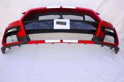 Oem 2020 2021 Ford Mustang Shelby Gt500 Front Bumper Cover Fascia - Lucid Red