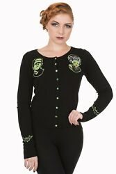 Lost Queen Made For Each Other Gothic Girl Frankenstein And Bride Cardigan