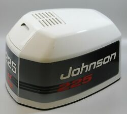 435973 Johnson Evinrude 1993-1994 Top Cowl Engine Cover 225 Hp V6 New Old Stock