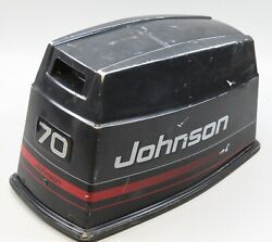 438345 Johnson Evinrude 1997-1998 Top Cowling Engine Cover Hood 50 60 70 Hp
