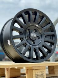 17 Oz Rally Raid Volkswagen Transporter Crafter T5 T6 Alloy Wheels And Bfg Tyres