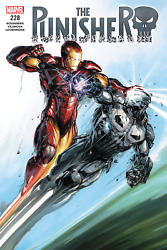 The Punisher 228 Vs Iron-man Poster 24x36 Inches