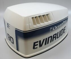 284645 Johnson Evinrude 1995-98 Cowling Hood Engine Cover 90 115 Hp New Take Off