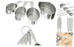 Stainless Steel Measuring Cup And Spoon Set 1