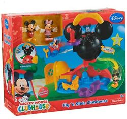 Fisher-price Disney Mickey Mouse Fly N Slide Clubhouse Original Packaging New