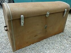 Late 20s Early 30s 32 33 36 Packard Rare Trunk Suitcase Hinges Rear Emblem Oem