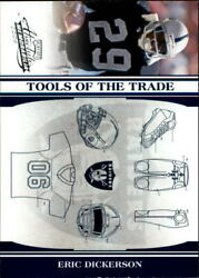 2006 Absolute Memorabilia Tools Of The Trade Blue Card 57 Eric Dickerson/75