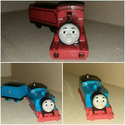 Thomas And Friends 3 Motorized Engines And 1 2 Cart All Tested And All Work