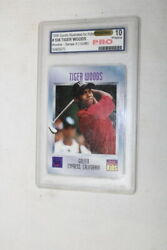 Tiger Woods 1996 Sports Illustrated Rookie Trading Card 10 Pristine