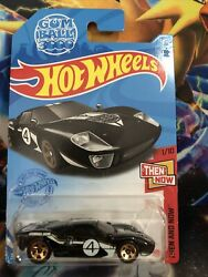 Hot Wheels 2021 K Case Ford Gt-40 Gumball 3000 Recolor Then And Now 78/250