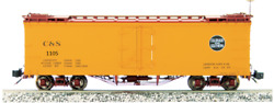 Accucraft / Ams Am31-560 Cands 1105 Refrigerator Car 120.3 Scale