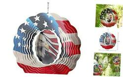 Wind Spinner, Kinetic Wind Spinner, 3d Stainless Steel Crafts Ornaments Eagle