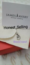 James Avery Delicate Mother's Love Brand New Charm Sterling Silver