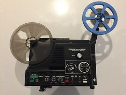 Super8 Sound Film Projector Chinon 9000 With 13 Optical Sound Films