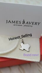 James Avery Texas Brand New Charm Sterling Silver