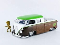 Jada Marvel Guardians Of The Galaxy Groot And 1963 Bus Pickup 124 Diecast Car